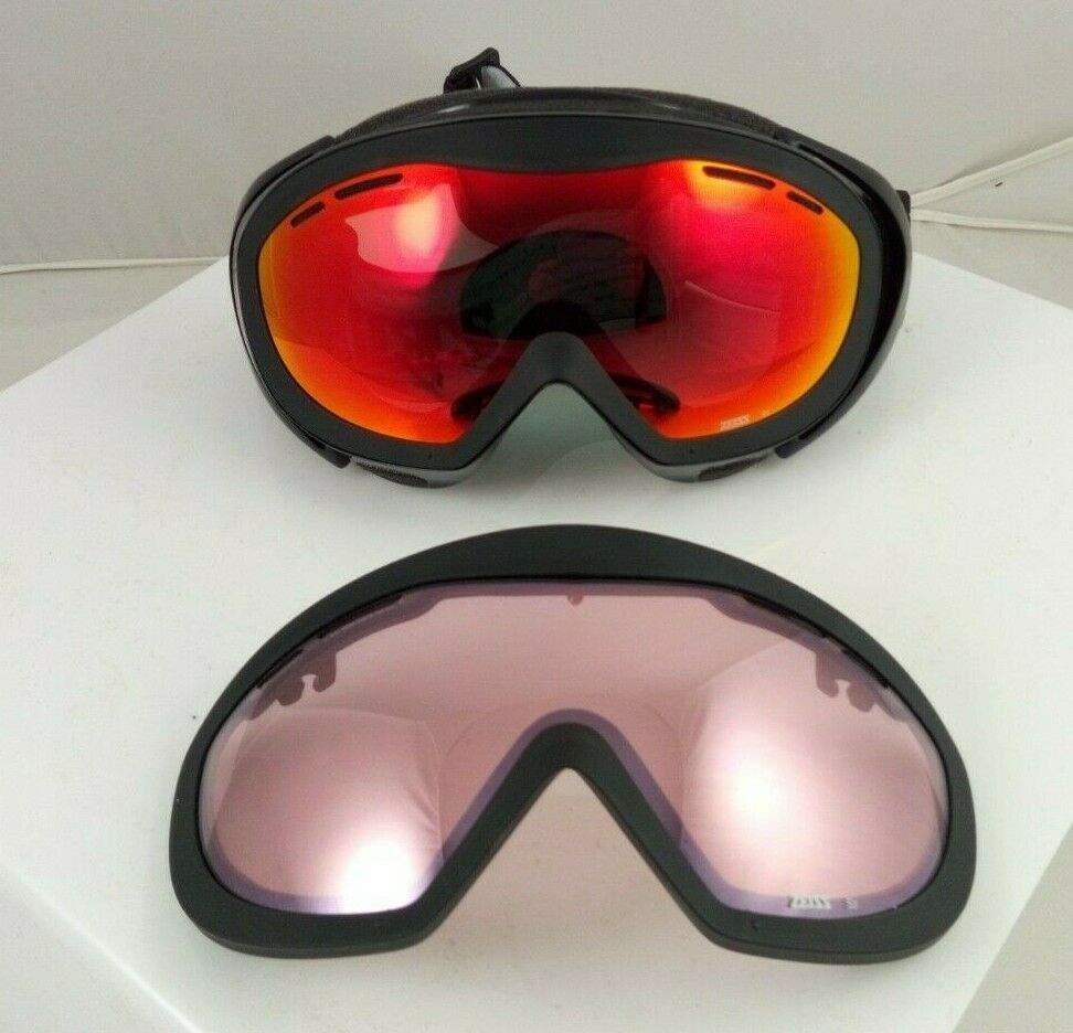 Ski Goggles  Zeiss Bowie Interchangeable Face Fog Sunglasses  fast shipping to you