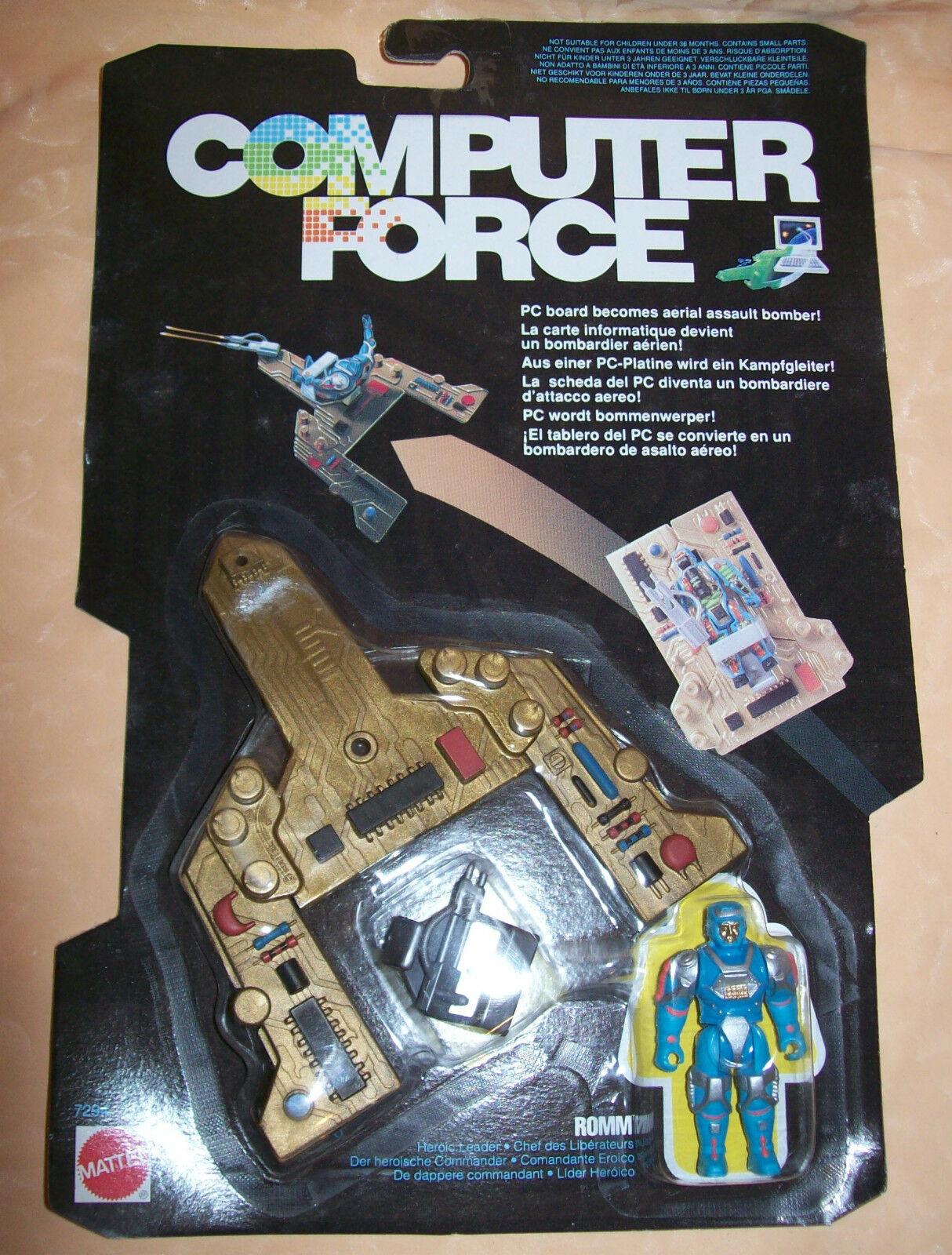 COMPUTER FORCE MATTEL ROMM anno 1989  cod.5479