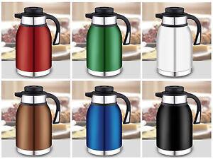 edelstahl isolierkanne kaffeekanne thermoskanne. Black Bedroom Furniture Sets. Home Design Ideas
