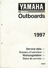 Yamaha Marine Outboards-1997-Service Data (324 pages)
