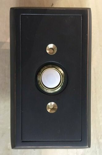 It/'s About Chime Decorative Doorbell Push Button Door Hardware ORB Shaker