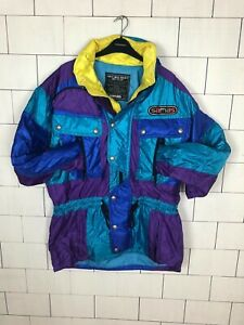 Jacket 488 Multi Windbreaker Ski Retro Jas Urban Snow Bright Vintage Bold HwPqa0Hv