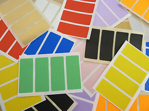 50x20mm-Rectangular-Mixed-Coloured-Colour-Sticky-Labels-Stickers-10-Colours