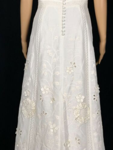 NWOT Anthropologie BHLDN Greenhouse Gala Gown Ivory Size 6