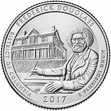 2017  FREDERICK DOUGLASS NATIONAL HISTORICAL SITE (DC) P&D SET ****IN-STOCK****