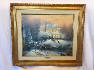 Thomas Kinkade Victorian Christmas Ii