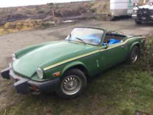 1980 Triumph Spitfire 2 door convertible