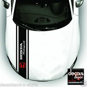 3X-Whole-Body-Stripe-Hood-Top-and-Rear-HONDA-Cars-Civic-Accord-CR-V-Fit-CR-Z