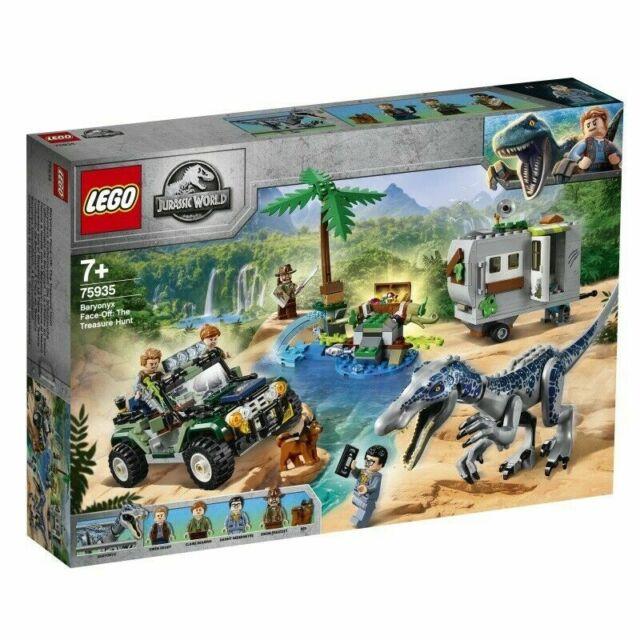 LEGO® Jurassic World™: Baryonyx Face-Off - The Treasure Hunt #75935 *BRAND NEW*