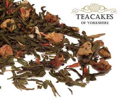Green Loose Leaf Tea Golden Apple Spice Quality 100g 250g 500g 1kg Caddy Gift