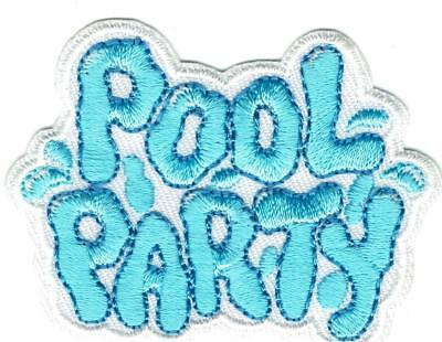 Girl Boy SWIMMING FUN Patches Crests Badges SCOUT GUIDE Mermaid swim party pool