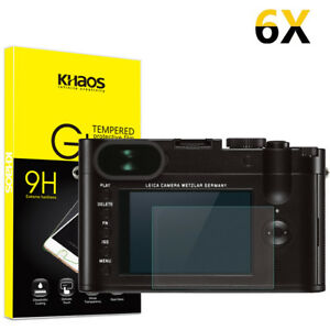 6-Pack-Khaos-For-Leica-Q-Tempered-Glass-Screen-Protector