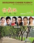 Developing Chinese Fluency: An Introductory Course Simplified: Volume 1 by Phyllis Zhang (Paperback, 2014)