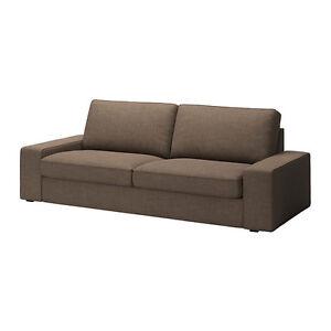 ikea kivik bezug 3er sofa isunda braun neu ovp ebay. Black Bedroom Furniture Sets. Home Design Ideas