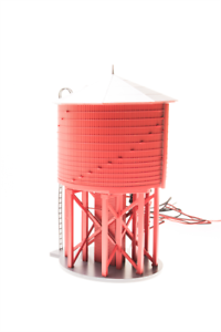 6090 Broadway Limited HO Scale Water Tower (Motorized w Sound)