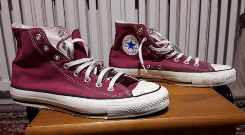 Rosso 8 Converse Scatola Star Senza usate Size 5 Scuro All aqqwSBEZ