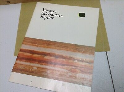 100% Quality Voyager Encounter Jupiter - Nasa July 1979 - 40pg Booklet Warm And Windproof