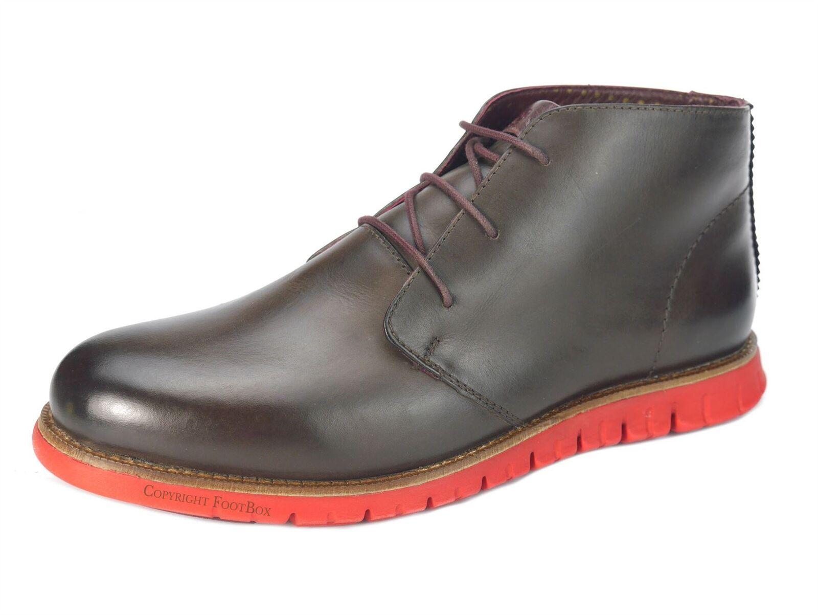 London Brogues GATZ Uomo stivali Casual Chukka ultra leggero stivali Uomo scarpe marroni 27924f