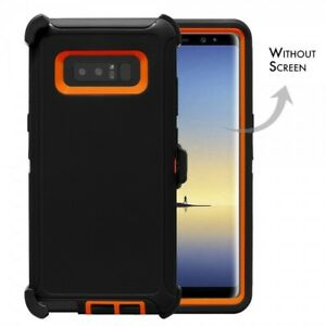 reputable site 8f2d5 073e4 Details about For Samsung Galaxy Note 8 Defender Case Cover [Belt Clip Fits  Otterbox] BK-OR