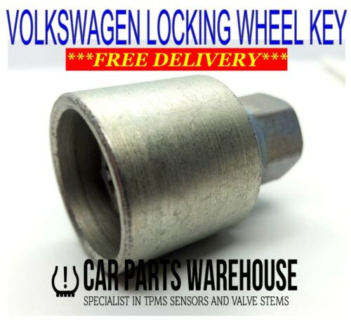 VW Locking Wheel Nut Key Original OE Keys Provided with Matching Service