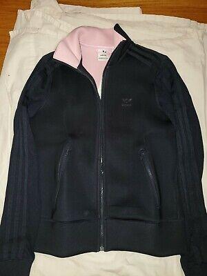 Comienzo Permanentemente desnudo  Adidas Firebird TT track jacket women navy blue & Pink lining size x-small  | eBay