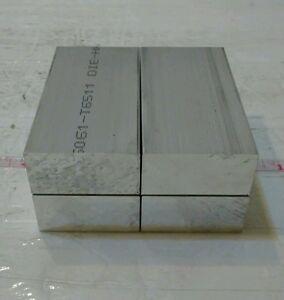 """1-1//4/"""" X 1-1//4/"""" X 8/"""" long new 6061 aluminum plate flat stock bar block"""