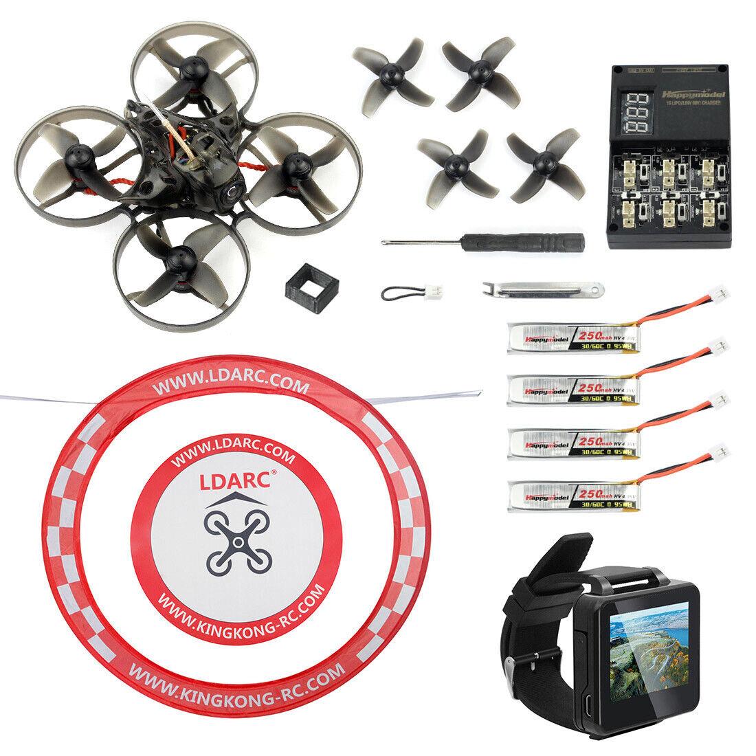 Happymodellolo Mobula7 V2 75mm Crazybee F3 Pro OSD SWhoop FPV  Racing Drone  ordinare on-line