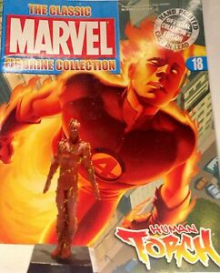 Classic Marvel Figurine Collection HUMAN TORCH  ISSUE 18  EAGLEMOSS RARE SALE - <span itemprop=availableAtOrFrom>London, United Kingdom</span> - Classic Marvel Figurine Collection HUMAN TORCH  ISSUE 18  EAGLEMOSS RARE SALE - London, United Kingdom