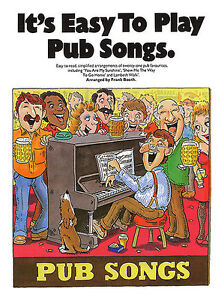 Details about Its Easy To Play Pub Songs Learn LAMBETH WALK PIANO Guitar  PVG Music Book SING