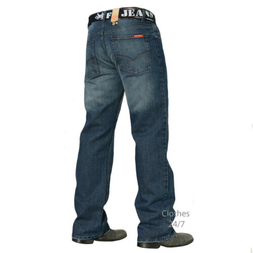 36 48 Taille 40 Blue Jeans 44 34 42 38 32 Taille 46 fbm14 Mens Wash 30 Denim Pantalons New vYBwa