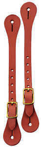 WEAVER-SPUR-STRAP-BRASS-HEAVY-DUTY-ADULT-MENS-WESTERN-WORKING-HORSE-TACK