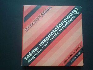 Taśma magnetofonowa -Vintage Magnetic tape - Magnetique : AGFA-GEVAERT LICENCE - Skierbieszów, Polska - Taśma magnetofonowa -Vintage Magnetic tape - Magnetique : AGFA-GEVAERT LICENCE - Skierbieszów, Polska