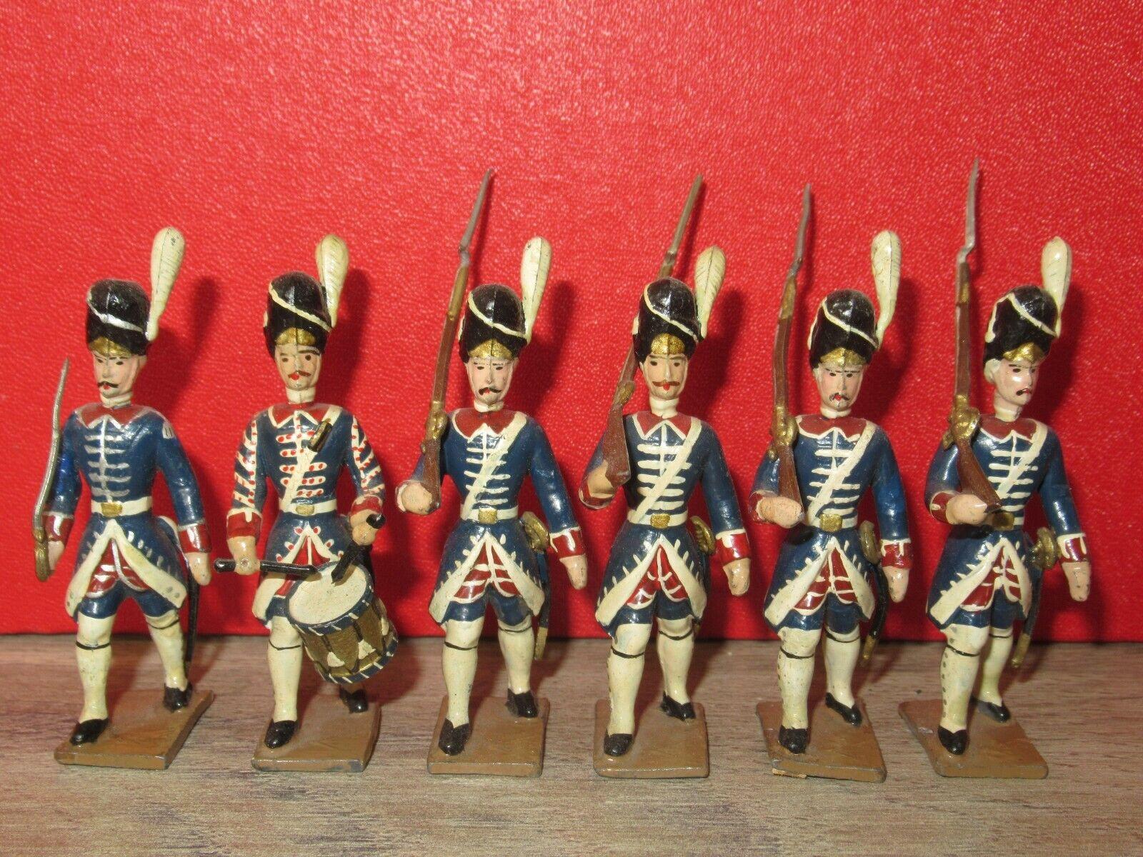 CBG mignot ancien - 6 granatiers de la garde francaise de l ancien regime