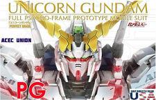 Metal Detail-Up Parts Set GOLD For Bandai PG 1/60 Unicorn Gundam - U.S. SELLER