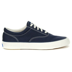 Keds Women's Anchor Canvas Navy Shoes WF58141 NEW