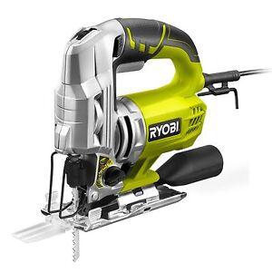 Ryobi jigsaw corded 600w rjs850 k 85mm tool less blade change image is loading ryobi jigsaw corded 600w rjs850 k 85mm tool greentooth Gallery
