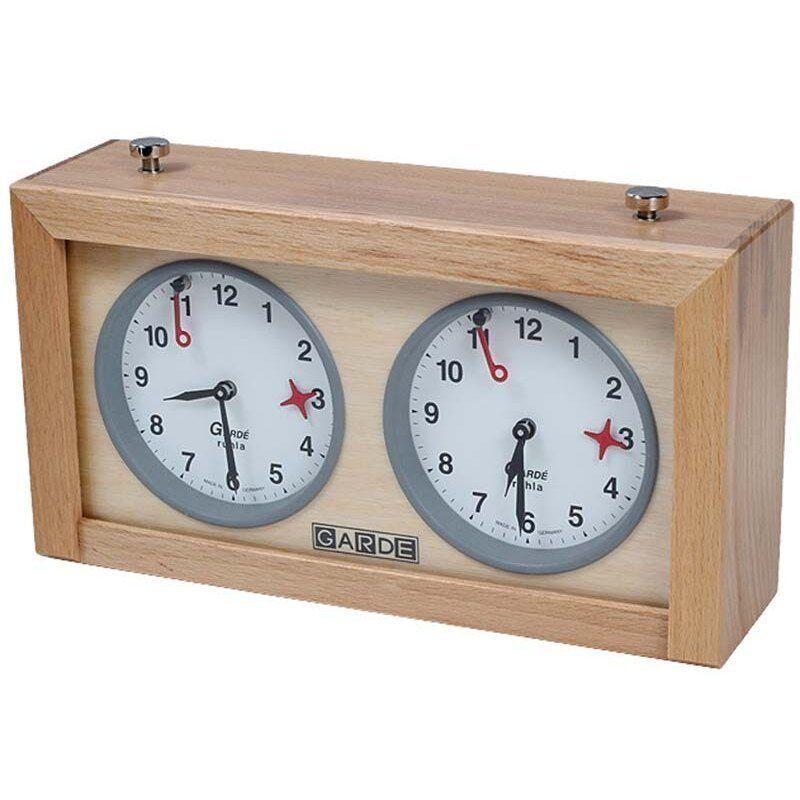 Reloj analógico de ajedrez Garde