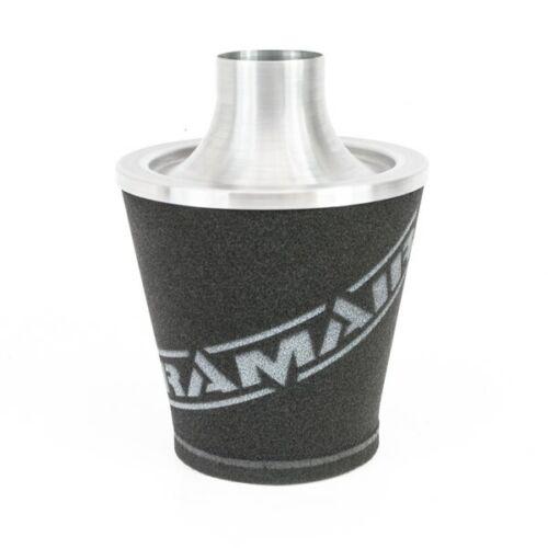 RAMAIR Universal Extra Large Silver Aluminium Jetstream Air Filter 100mm Neck