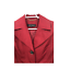 thumbnail 3 - Ellen Tracy Womens S Small Red Button Front Jacket Ladies Casual