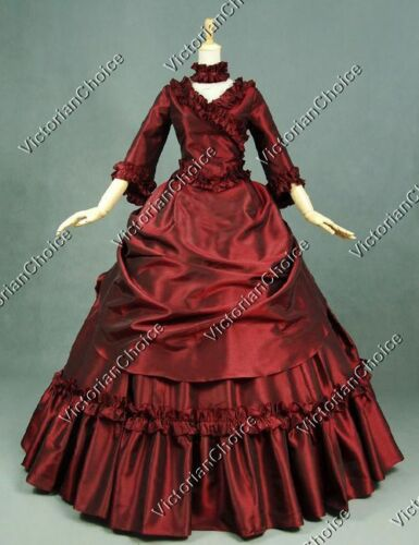 Victorian Costume Dresses & Skirts for Sale    Victorian Bustle Princess Ball Gown Dress Theatre Punk Women Clothing V 330 M  AT vintagedancer.com