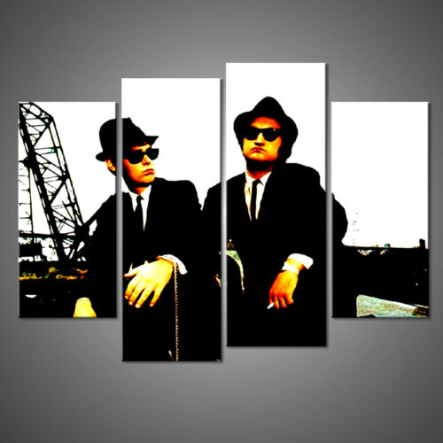 THE BLUES BROTHERS CANVAS PRINT PICTURE WALL ART HOME DECOR FREE DELIVERY