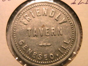 Geneseo-IL-the-Friendly-Tavern-Good-For-5C-Five-Cents-in-Trade-Exonumia-Token