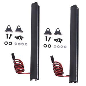 2pcs-Bright-DEL-Light-Bar-Toit-Lampe-pour-SCX10-D90-Traxxas-Trx-4-1-10-Radio-Control