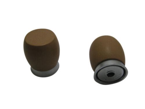Möbelknopf Möbelgriff Möbelgriffe Möbelknöpfe Griff Knopf Kunststoff Terracotta