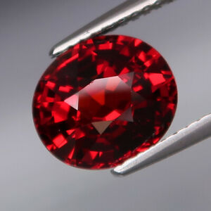 4-11Ct-Outstanding-Color-Natural-Red-Spessartite-Garnet-Full-Fire-amp-Eye-Clean
