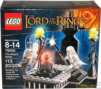2013 LEGO Lord Of The Rings #79005 The Wizard Battle MISB New Sealed