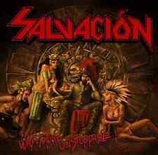 SALVACION - Way More Unstoppable (NEW*US METAL*STEEL PROPHET*SLOUGH FEG*RIOT)