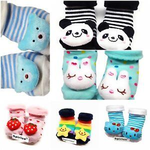 Keep Warm Shoes Girls Boys Spirius UK Soft  warm Baby Booties Socks