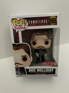 Tombstone #855 Funko POP Doc Holiday with Cup Exclusive Movies
