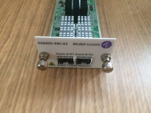 Alcatel-Lucent OS6450-XNI-U2 10 Gigabit SFP Stacking Module 6450 903040-90